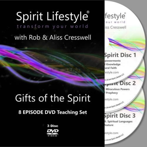 Spirit Lifestyle Gifts of the Spirit DVD Set
